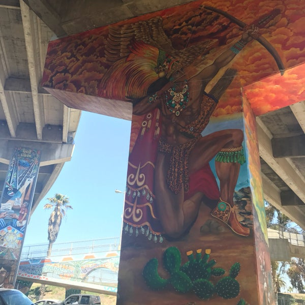 Photo taken at Chicano Park by Deborah C. on 4/20/2017