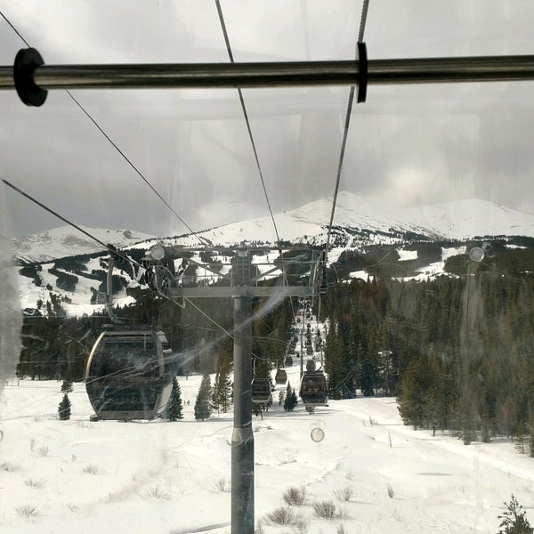 Photo taken at Breck Connect Gondola by Bill S. on 2/9/2017
