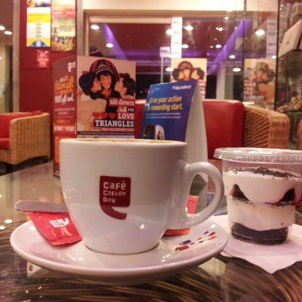 Photo taken at Cafe Coffee Day by Mohammad T. on 2/13/2013