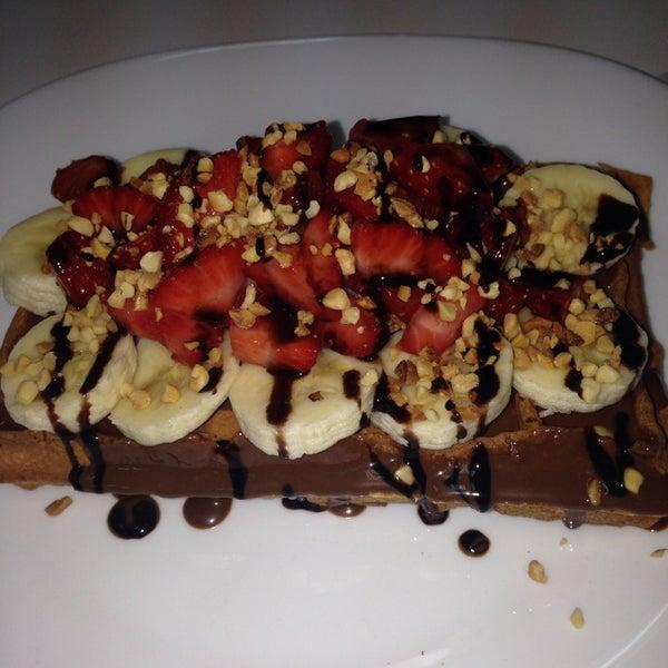 12/1/2013 tarihinde Senem Ceren C.ziyaretçi tarafından Waffle Edem 46'de çekilen fotoğraf