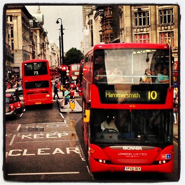 Photo taken at Oxford Street by Nathalie R. on 7/16/2013