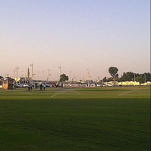 Photo taken at Aspire Park by mhie z. on 11/16/2012