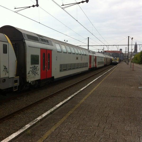 Photo taken at Station Blankenberge by Geoffrey M. on 4/21/2014