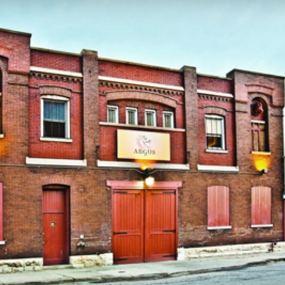 Photo taken at Argus Brewery by Jarrett P. on 5/20/2013