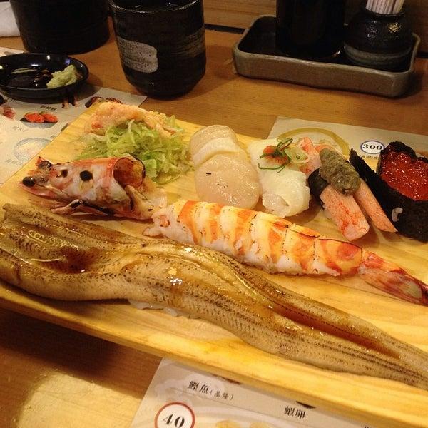 Das Foto wurde bei 丸壽司 von Emma C. am 10/13/2013 aufgenommen
