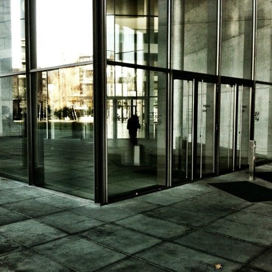 Photo taken at Pinakothek der Moderne by Raimund V. on 11/17/2012