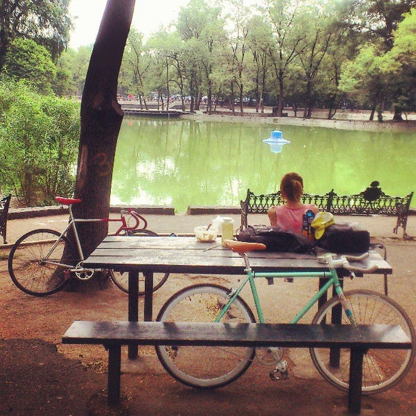 Photo taken at Bosque de Chapultepec by wahid g. on 5/7/2013