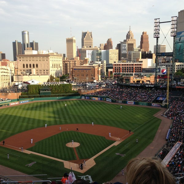 Photo taken at Comerica Park by Paul on 5/15/2013
