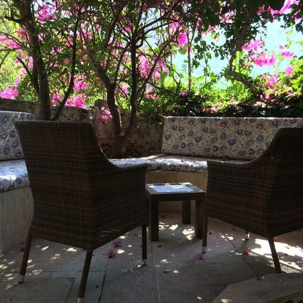 9/3/2014 tarihinde Orhan Ç.ziyaretçi tarafından Paradise Garden Butik Hotel'de çekilen fotoğraf
