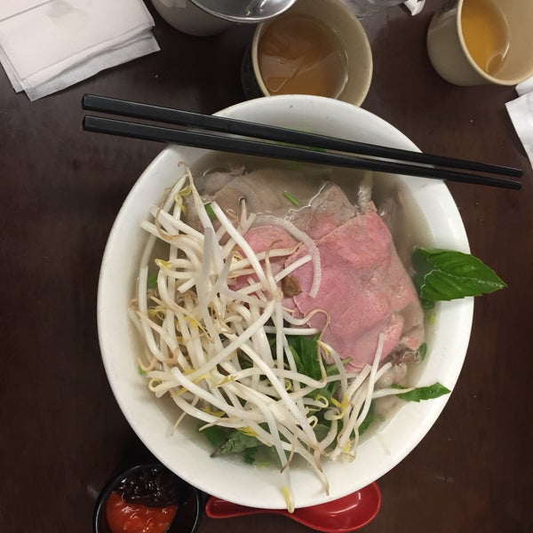 Photo taken at Pho Bac by Tracy W. on 2/5/2017