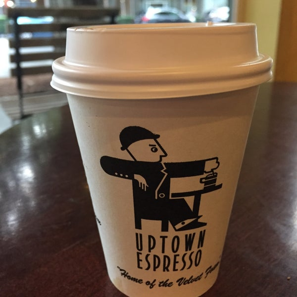 Photo taken at Uptown Espresso by Dot Z. on 9/10/2017