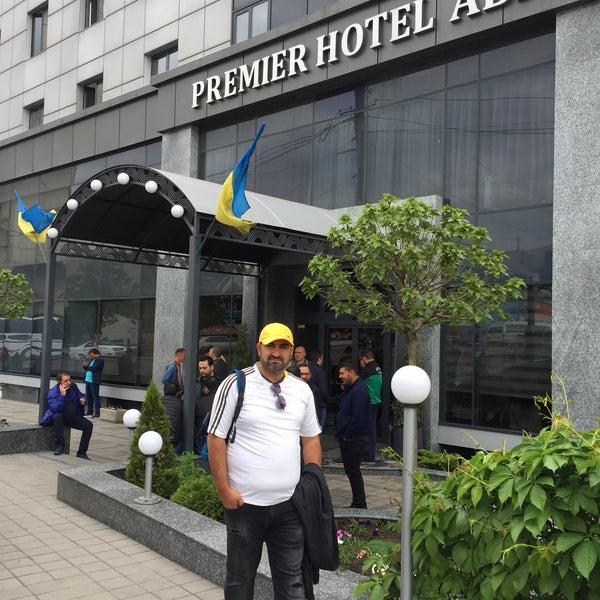 Снимок сделан в Premier Hotel Abri пользователем Resat .. 5/13/2017