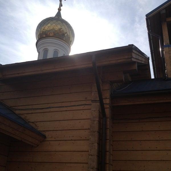 Photo taken at Храм святого Николая Чудотворца by Bella on 5/5/2013