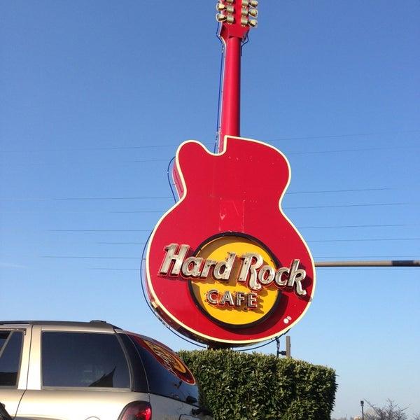 Photo taken at Hard Rock Cafe Nashville by Andy C. on 4/5/2013
