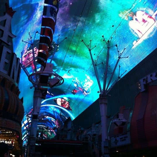 Photo taken at Fremont Street Experience by Naomi G. on 3/17/2013