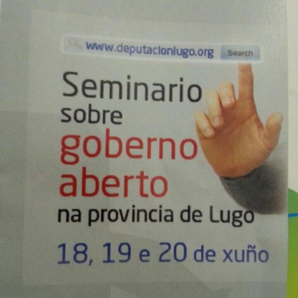 Foto tirada no(a) Deputación de Lugo por Alfonso P. em 6/18/2014