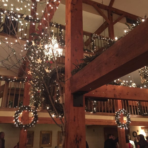 Photo taken at Bedford Village Inn by Emily N. on 12/19/2015