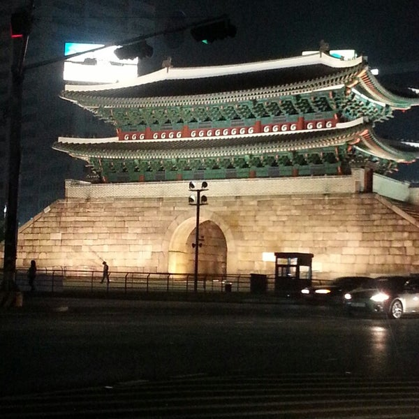 Photo taken at Sungnyemun by Rick Changwon Y. on 5/4/2013