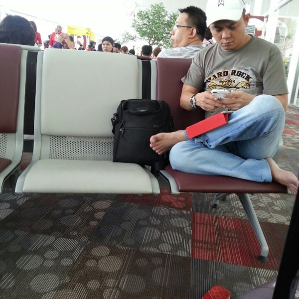 Photo taken at Polonia International Airport (MES) by nie h. on 12/11/2013