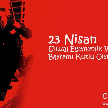 23 Nisan Ulusal Egemenlik ve Çocuk Bayramı kutlu olsun!  www.citicarrental.com 0232 422 1 909