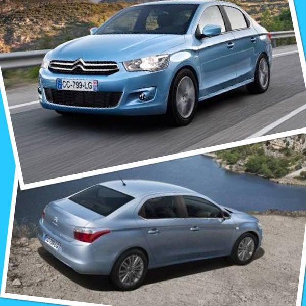 İzmir oto kiralama taleplerinizde dizel Cİtroen C Elysee marka araçlar günlük 70 TL+KDV 0232 422 1 909