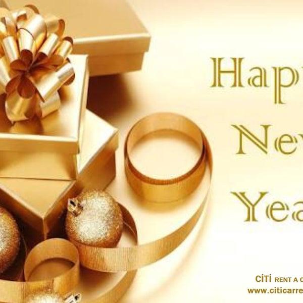 Tüm sevdiklerinizle birlikte mutlu,sağlıklı ve huzur dolu bir yıl geçirmenizi dileriz. www.citicarrental.com 0232 422 1 909