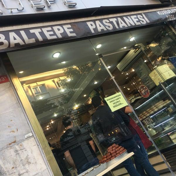 6/12/2017 tarihinde Uğur A.ziyaretçi tarafından Baltepe Pastanesi'de çekilen fotoğraf