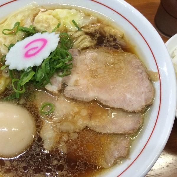 4/11/2015にNoriyuki O.が中華そば 維新商店で撮った写真