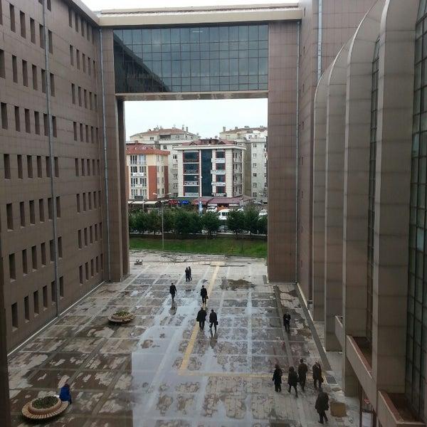 Photo taken at Bakırköy Adalet Sarayı by Elif Ç. on 3/15/2013