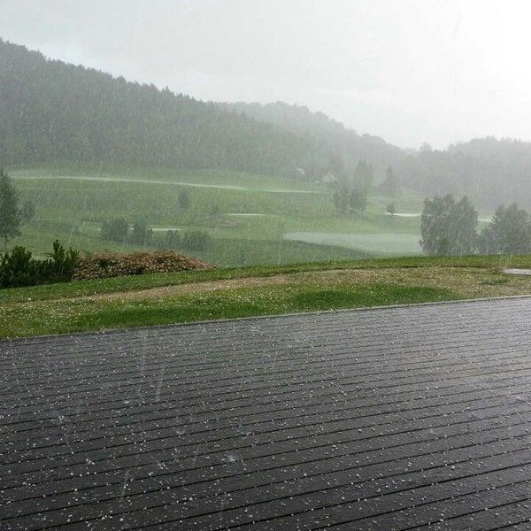 Photo taken at Ypsilon Golf Resort Liberec by Marek B. on 7/2/2013