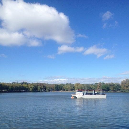 Photo taken at Lago de la Casa de Campo by Linda on 11/1/2012