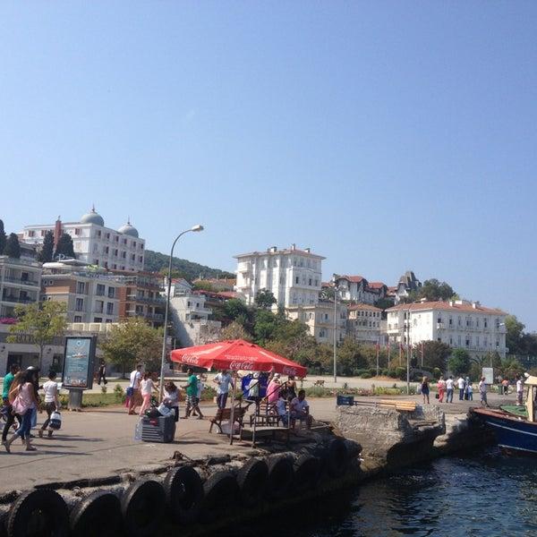 Photo taken at Büyükada Mavi Marmara Motor İskelesi by Ceren on 8/26/2013