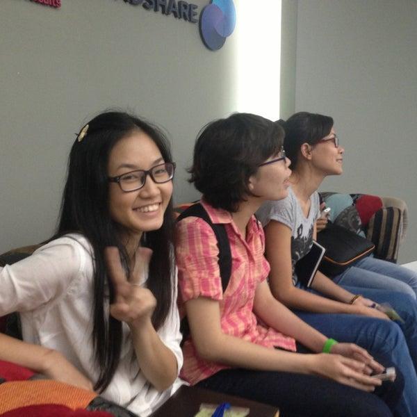 Photo taken at Mindshare Vietnam by Khoa Q. on 3/14/2013