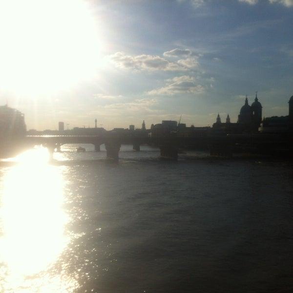Photo taken at London Bridge by Daniel T. on 5/26/2013