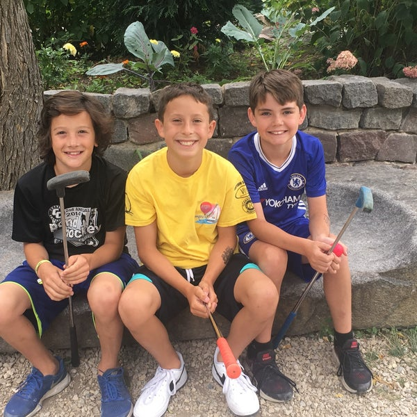 Photo taken at Big Stone Mini Golf & Sculpture Garden by Gail M. on 7/13/2017