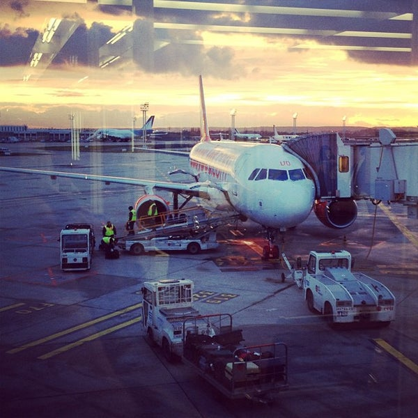 Photo taken at Paris-Orly Airport (ORY) by Remi B. on 2/11/2013