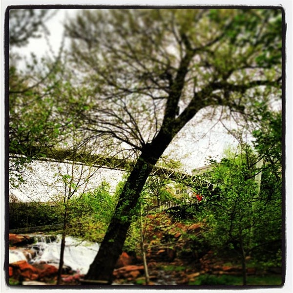 Photo taken at Liberty Bridge by Stephen H. on 4/17/2013