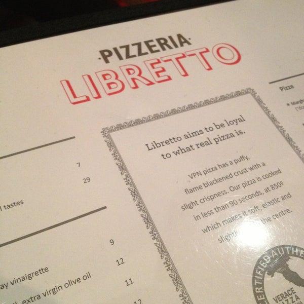 Photo prise au Pizzeria Libretto par Alan F. le8/22/2013