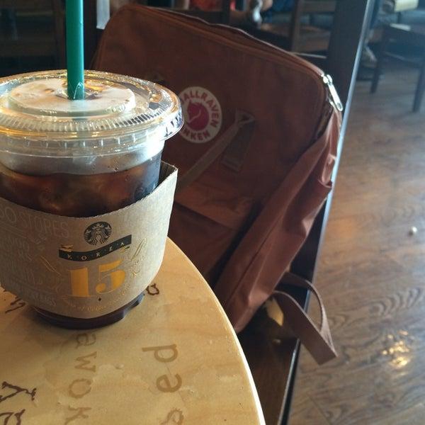 Photo taken at Starbucks by Cindy C. on 7/1/2014