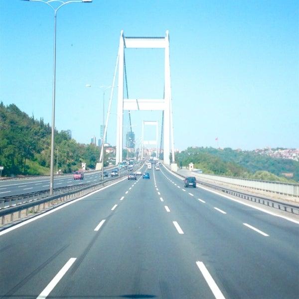 Photo taken at Fatih Sultan Mehmet Bridge by EypC.✈️ on 7/21/2013