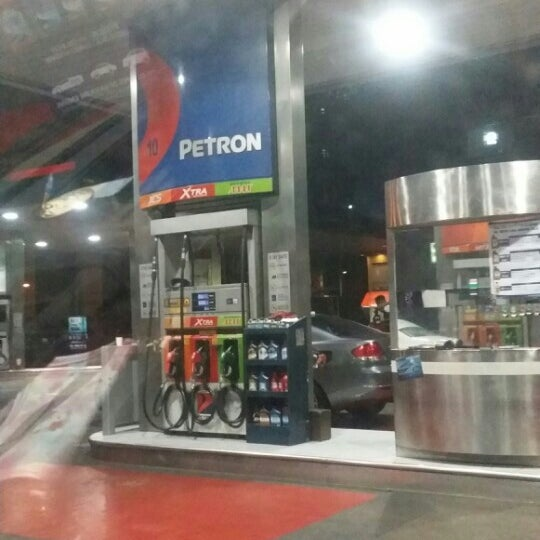 Photo taken at Petron by Ma-an M. on 2/2/2016