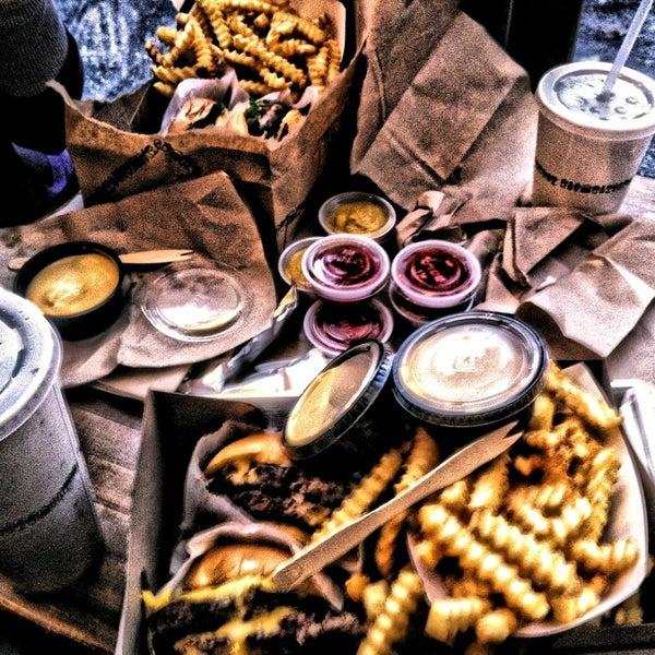 Photo taken at Shake Shack by Soner I. on 12/26/2012