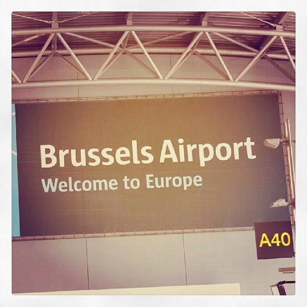 Снимок сделан в Брюссельский аэропорт (BRU) пользователем Pesho I. 9/1/2013