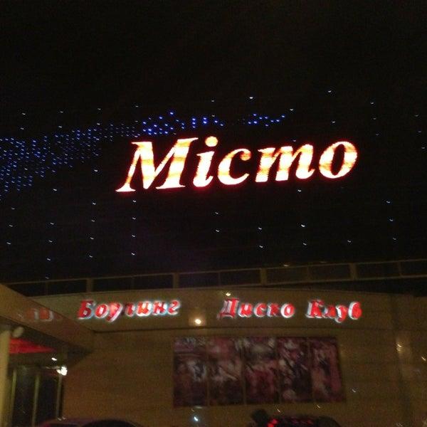 Снимок сделан в Клуб «Місто» / Misto Club пользователем Vladyslavv 3/16/2013