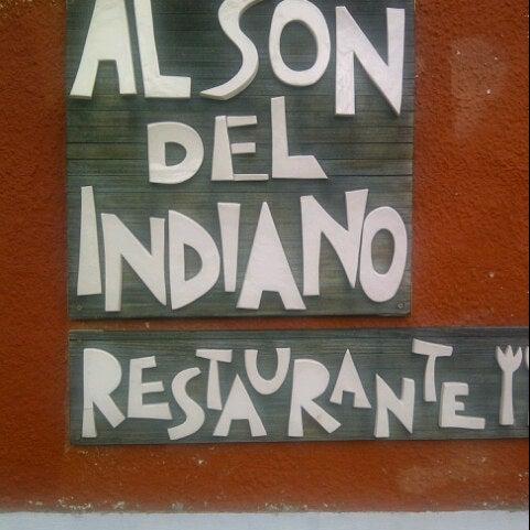 Foto tomada en Restaurante Al Son del Indiano por Carlos Olmo V. el 11/22/2012