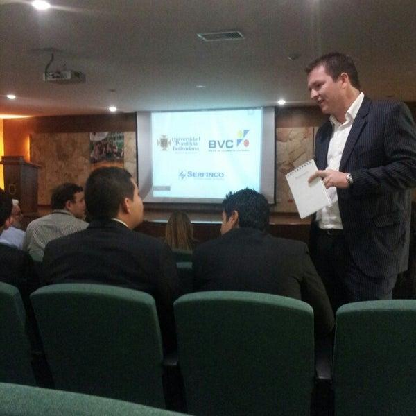 Photo taken at Universidad Pontificia Bolivariana - Seccional Bucaramanga by Juan S. on 8/6/2013