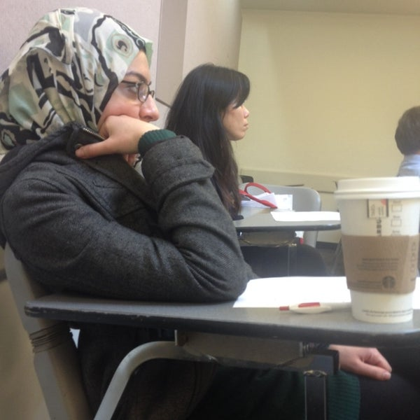 Photo taken at UWM Curtin Hall by Juman A. on 4/4/2014