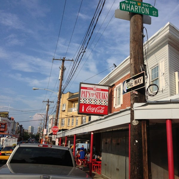 Photo taken at Pat's King of Steaks by Rick P. on 7/20/2013