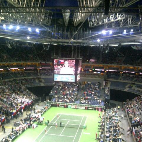 Photo taken at O2 arena by Ondra S. on 11/4/2012