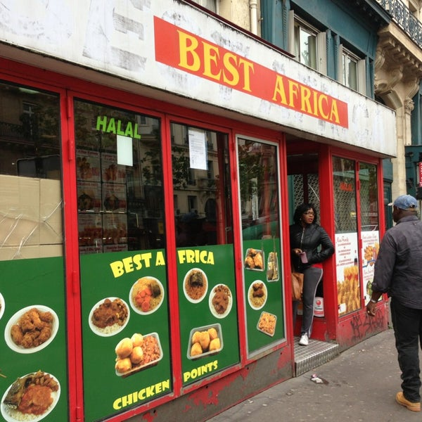 Best africa restaurant africain paris - Restaurant africain porte de clignancourt ...